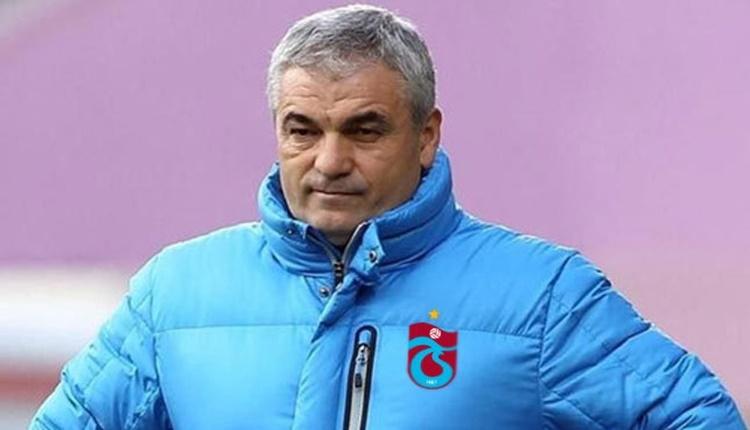 Trabzonspor'un Beşiktaş maçı ilk 11'i