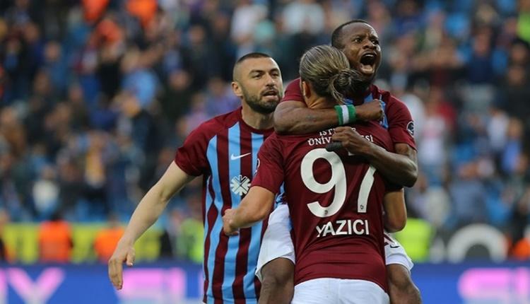 Trabzonspor'un gol yollarındaki sorunu geçti