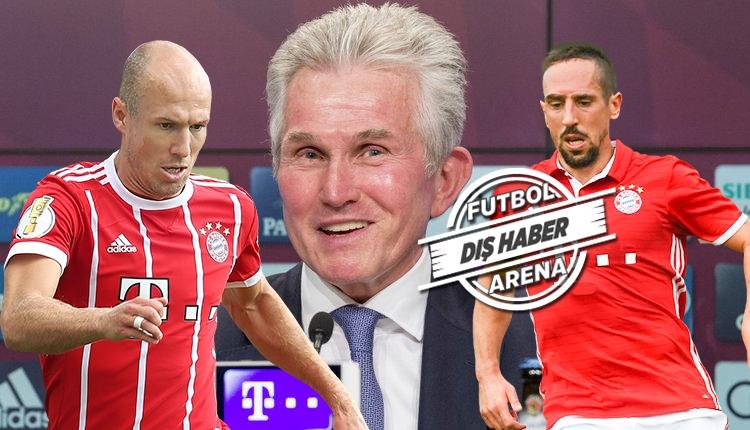 Türk takımları ile anılan Robben ve Ribery içinJupp Heynckes'den transfer açıklaması