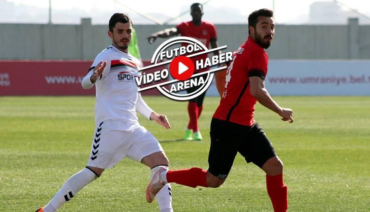 Ümraniyespor 2-0 Manisaspor maçı özeti ve golleri (İZLE)