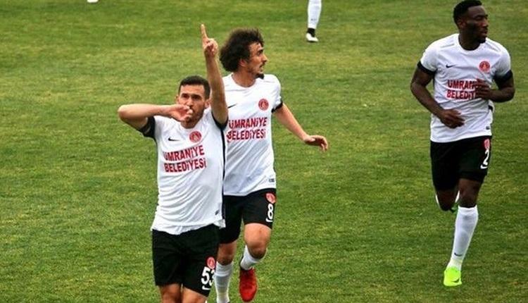 Ümraniyespor 2-1 Erzurumspor maç özeti ve golleri izle