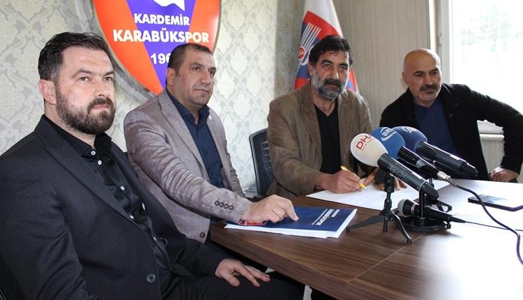 Ünal Karaman'ın Karabükspor'daki ilk sözleri: 'Yangını söndüreceğiz'