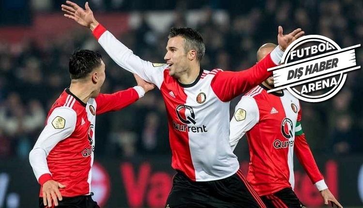 Van Persie Feyenoord'da 5 dakikada 2 gol attı (İZLE)