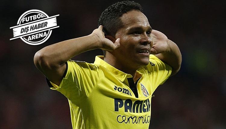 Villarreal, Fenerbahçe'nin gözdesi Bacca için kararını verdi