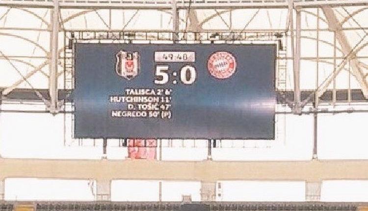Vodafone Park'ta Beşiktaş - Bayern Münih 5-0