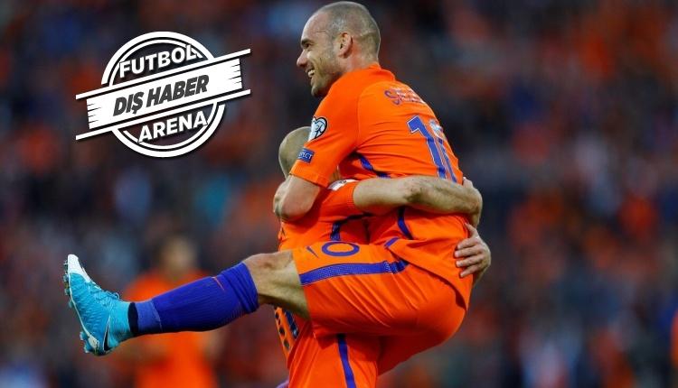 Wesley Sneijder, Hollanda Milli Takımı'nı bıraktı