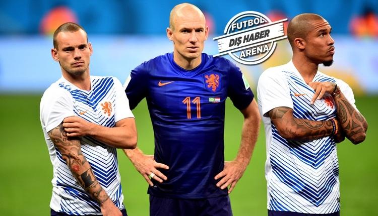 Wesley Sneijder kırgın! Vefasızlık açıklaması