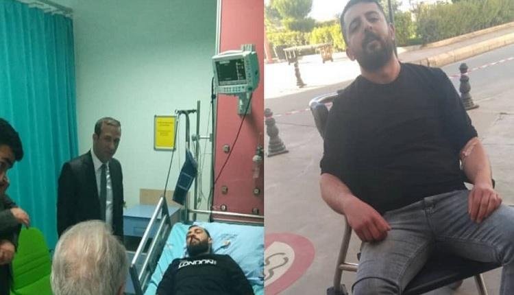 Yeni Malatyasporlu iki tarafta hastaneye kaldırıldı