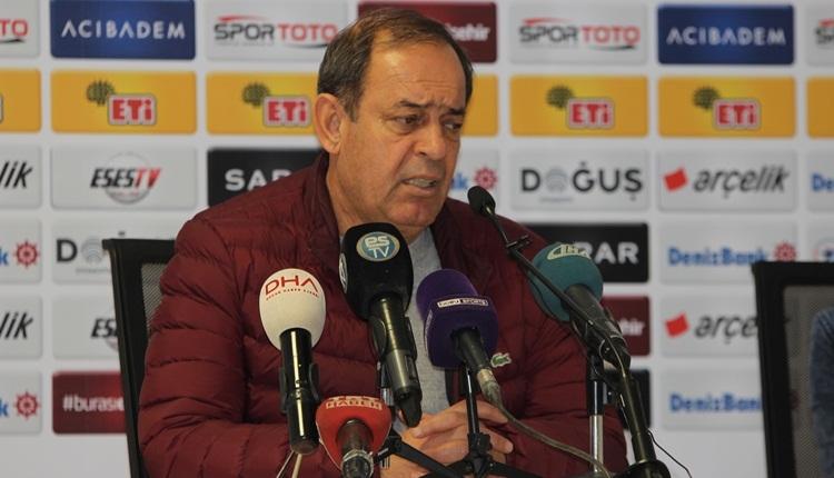 Yücel İldiz'den futbolcularına tepki: 'Çok hatalı goller yedik'