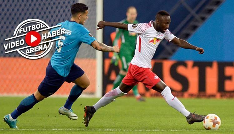 Zenit 1-1 RB Leipzig maçı özeti ve golleri (İZLE)