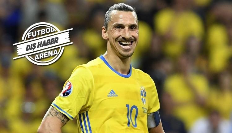 Zlatan Ibrahimovic'e milli takım mesajı!