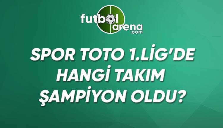 1. Lig'de kim şampiyon oldu? 1. Lig puan durumu, maç sonucu (TFF 1. Lig Çaykur Rizespor Ankaragücü şampiyon oldu mu?)