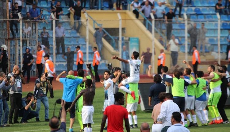 Adana Demirspor'da ligde kalma sevinci! Büyük coşku