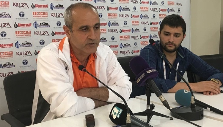 Adanaspor hocası Eyüp Arın isyan etti!