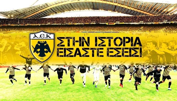 AEK, Yunanistan'da 24 yıl sonra şampiyon oldu