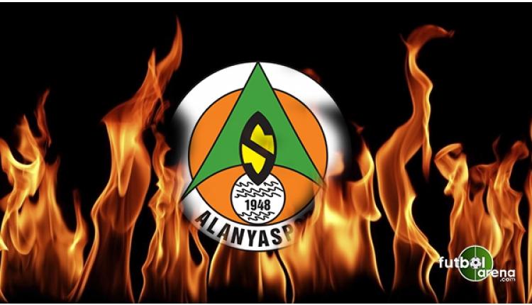 Alanyaspor tribünlerinde Galatasaray'ın golü sonrası olay