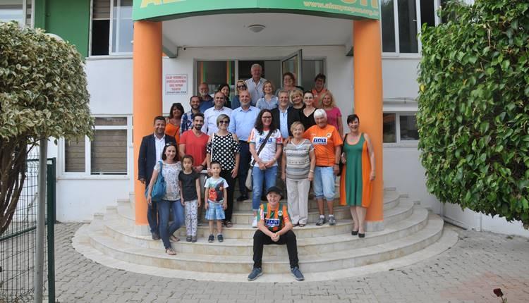 Alanyaspor'a yabancı taraftarlarından tam destek