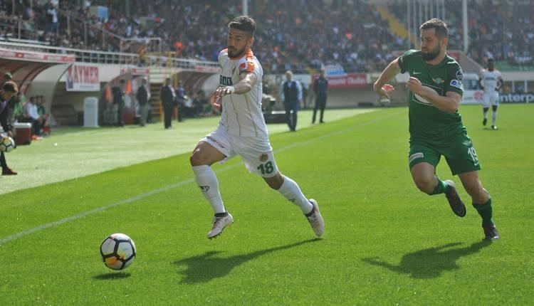 Alanyaspor'da sakat, cezalı futbolcular