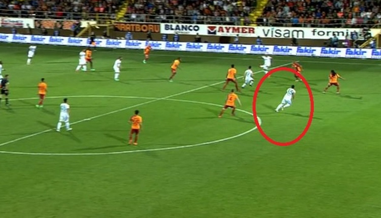 Alanyaspor-Galatasaray maçında Douglas'ın pozisyonu ofsayt mı?