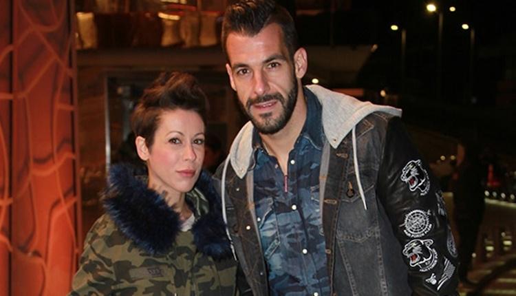 Beşiktaş Haberleri: Alvaro Negredo'nun eşi Amparo Moreno'dan destek