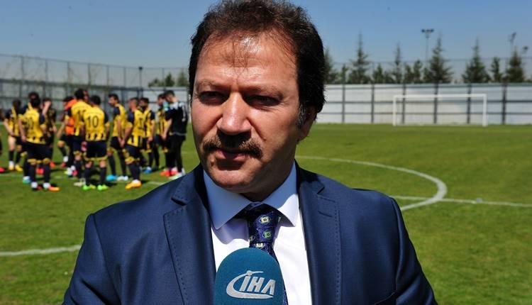 Ankaragücü Başkanı Mehmet Yiğiner'in cezasına indirim