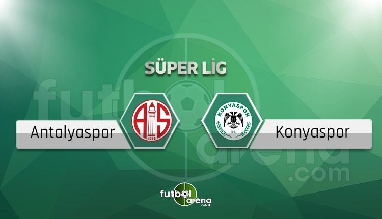 Antalyaspor - Atiker Konyaspor BeIN Sports canlı şifresiz izle