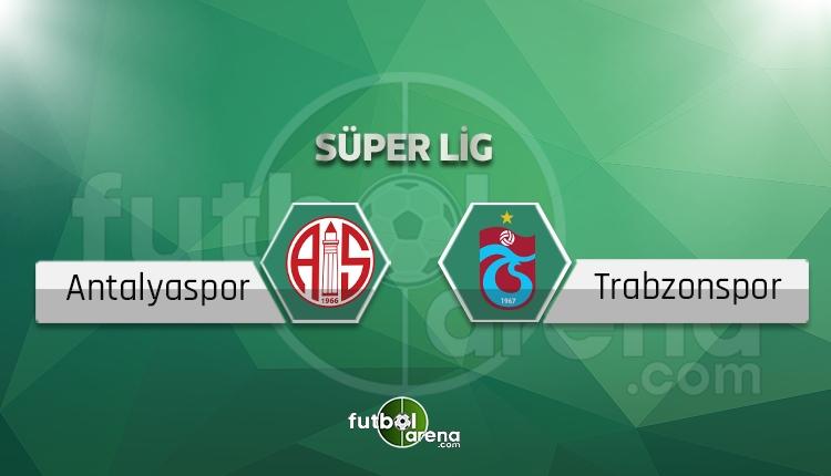 Antalyaspor Trabzonspor maçı beIN Sports canlı şifresiz izle