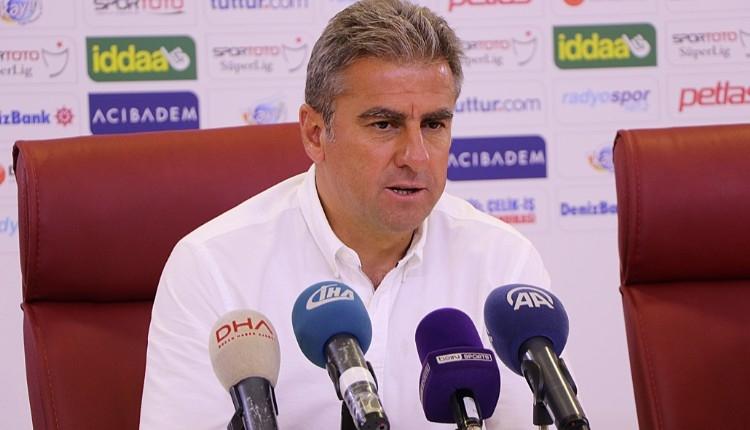 Antalyaspor'da Hamza Hamzaoğlu'ndan galibiyet yorumu
