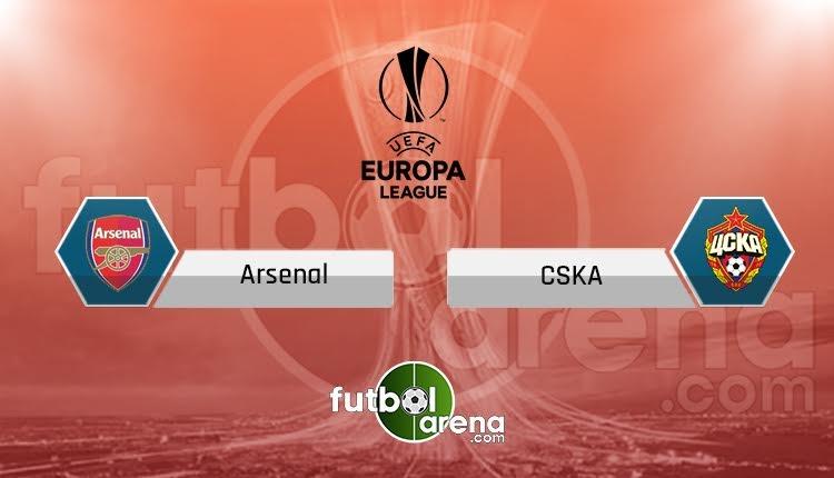Arsenal CSKA Moskova maçı TRT Spor canlı ve şifresiz İZLE