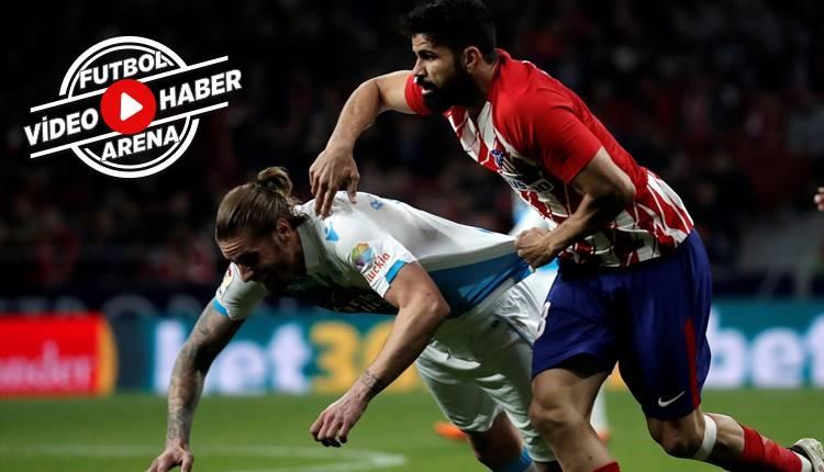 Atletico Madrid 1-0 Deportivo maçı özeti ve golleri (İZLE)