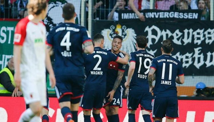 Augsburg 1-4 Bayern Münih maç özeti ve golleri İZLE