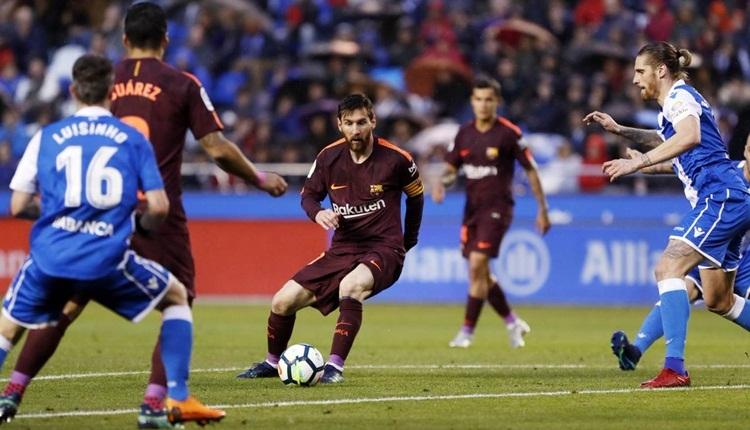 Barcelona şampiyonluğunu ilan etti! Deportivo - Barcelona maç özeti (İZLE)