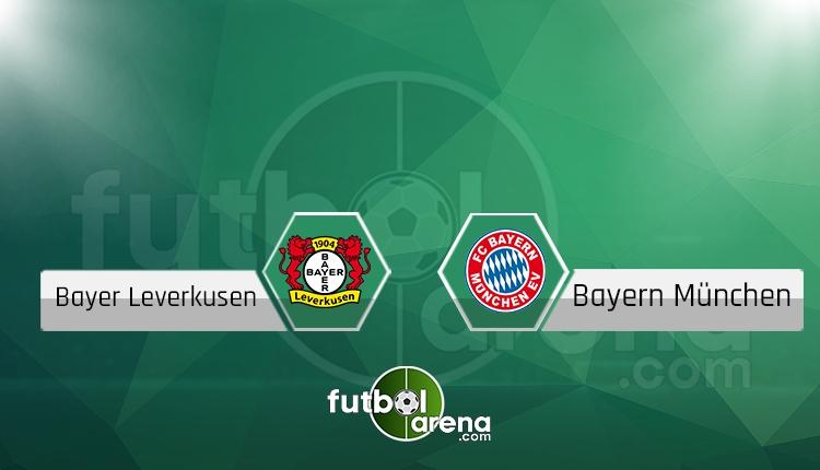 Bayer Leverkusen Bayern Münih NTV canlı şifresiz izle
