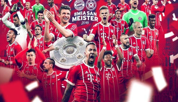 Bayern Münih, Almanya Bundesliga'da şampiyon oldu
