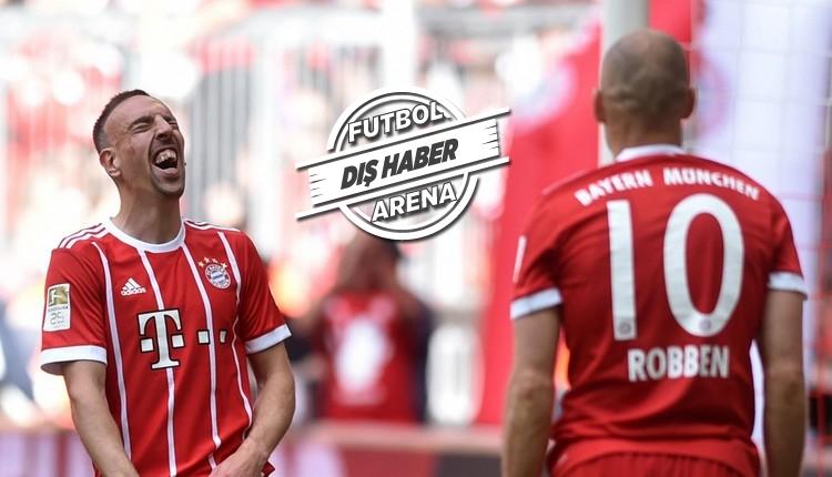 Bayern Münih, Ribery ve Robben ile sözleşme uzatacak mı?