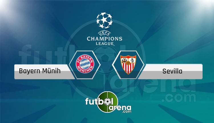 Bayern Münih Sevilla maçı Tivibu Spor 3 canlı şifresiz izle