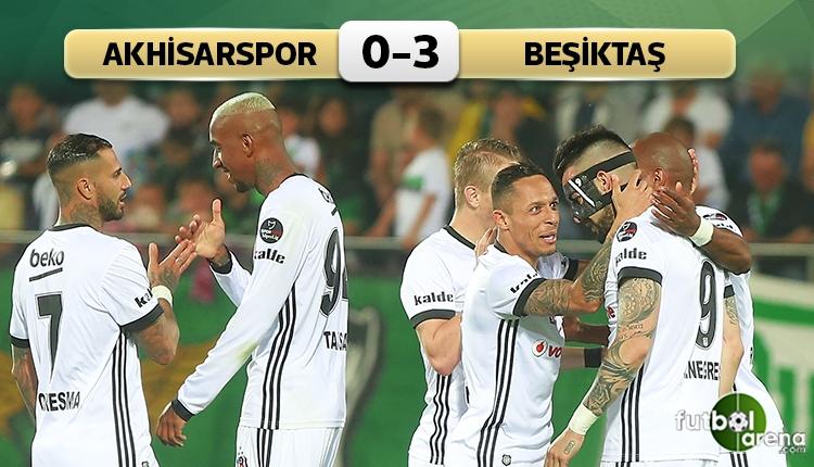 Beşiktaş, Akhisarspor'u rahat geçti