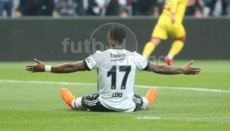 Beşiktaş - Göztepe maçında Lens'in hakem isyanı