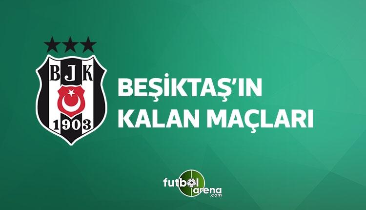 Beşiktaş kalan maçları (BJK fikstür, BJK kalan maçları 15 Nisan 2018)