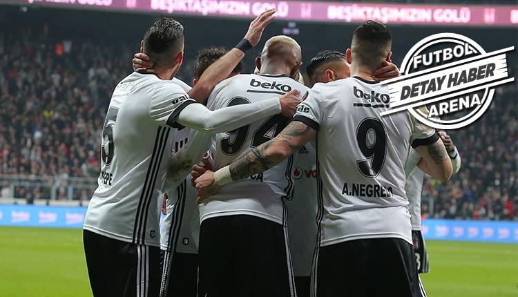 Beşiktaş ligde üçüncü; istatistikte ilk sırada