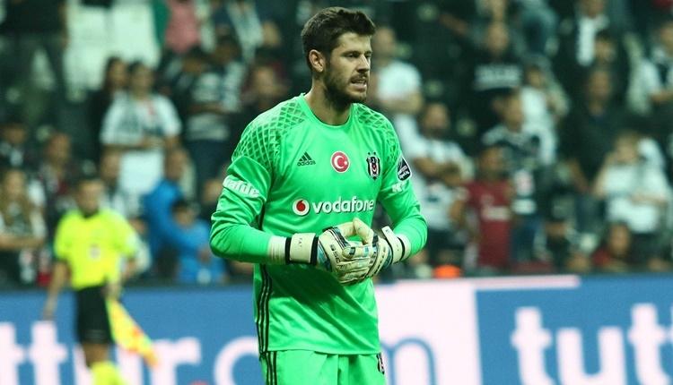 Beşiktaş'ın kalecisi Fabri, Süper Lig'in en iyisi oldu
