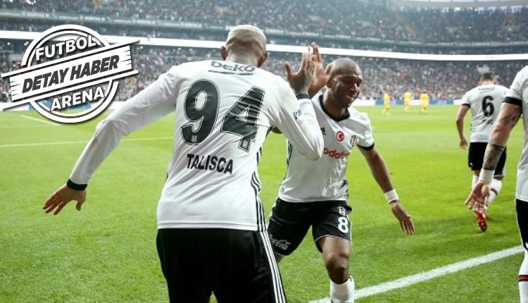 Beşiktaş'ta açılış Anderson Talisca'dan