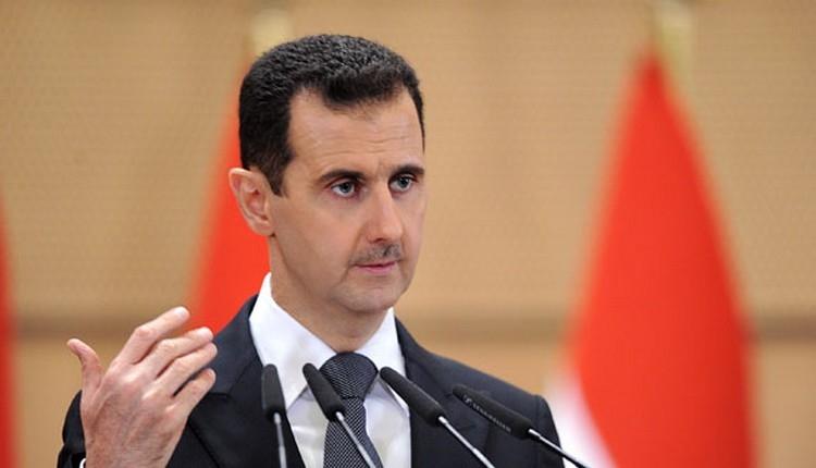 Beşşar Esad'ın ilk görüntüsü! (Amerika Suriye vuruş anı İZLE)
