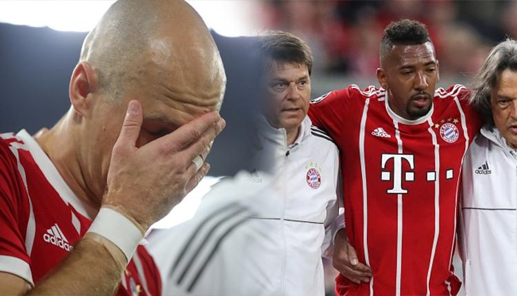 Boateng ve Arjen Robben, Real Madrid maçında sakatlandı (Bayern Münih-Real Madrid şifresiz izle)