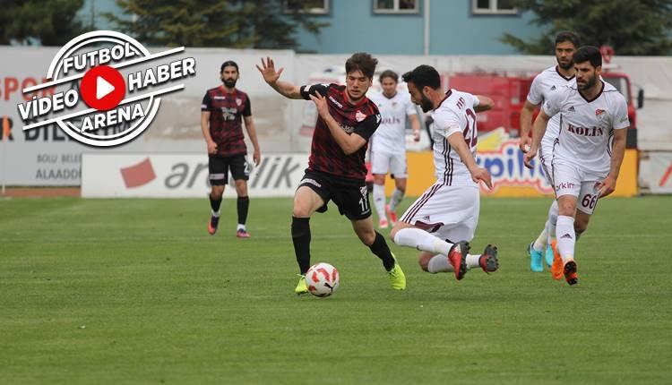 Boluspor 2-0 Elazığspor maçı özeti ve golleri (İZLE)