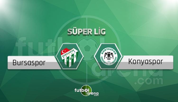 Bursaspor - Konyaspor beIN Sports canlı ve şifresiz İZLE