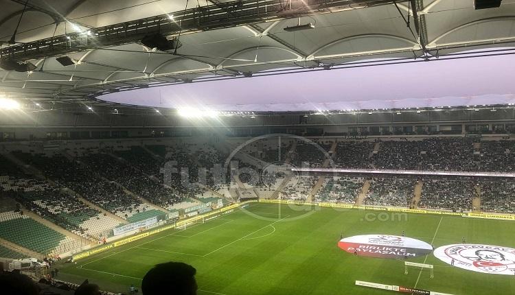 Bursaspor taraftarlarından Konyaspor'a