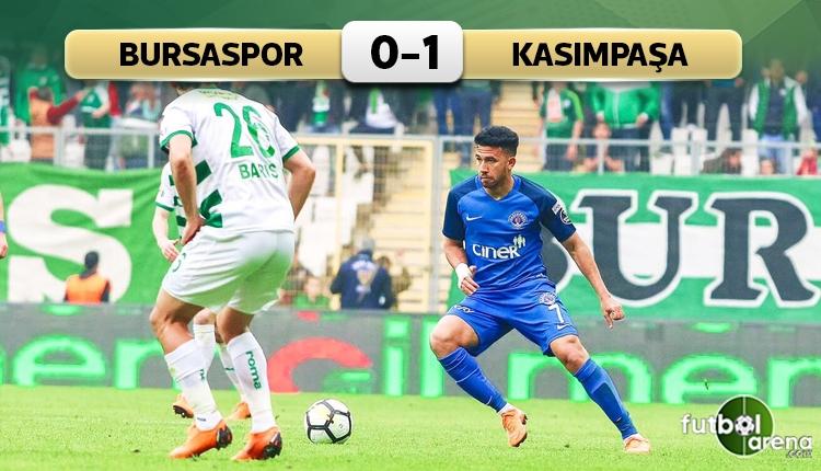 Bursaspor'a bir darbe de Kasımpaşa'dan! (İZLE)