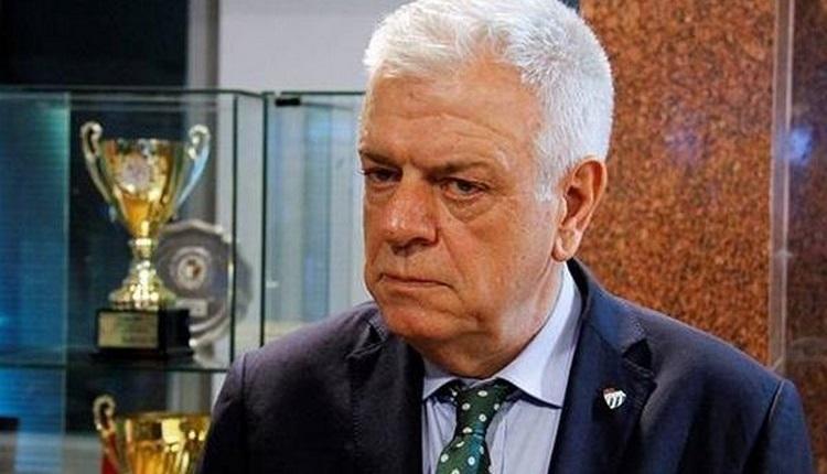 Bursaspor'da Ali Ay'dan Aziz Yıldırım'a: