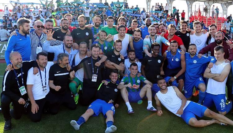 Çaykur Rizespor'da futbolcular prime boğuldu!